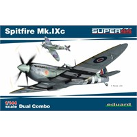 Spitfire Mk.Ixc Dual Combo (1/44 Ölçek)