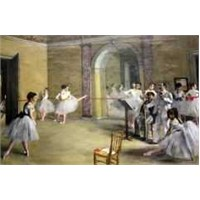The Dance Foyer At The Opera, Degas (1000 Parça Puzzle)