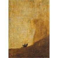 The Dog, Goya (1000 Parça,Panorama)