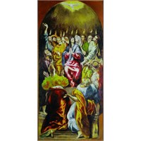 The Pentecost,El Greco (1000 Parça)
