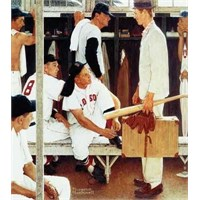 The Rookie, Norman Rockwell (500 Parça)