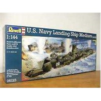Us Navy Landing Ship (1/144 Ölçek)