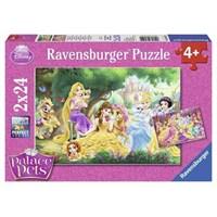Wd-Prensesin Arkadaşları (2X24 Parça Puzzle)