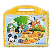 Disney Baby (12 Parça, Çantalı Küp Puzzle)