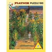 Garten, Monet (100 Parça Puzzle)
