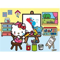 Hello Kitty, Artist, Happy Color (30 Parça, Maxi)