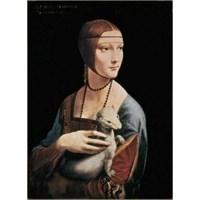 La Dama Con L'ermellino, Da Vinci (500 Parça Puzzle)