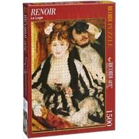 La Loge, Renoir (1500 Parça Puzzle)
