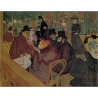 Le Moulin Rouge, Henri De Toulouse-Lautrec (1500 Parça Puzzle)