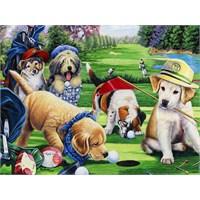 Putting Puppies (750 Parça Puzzle)