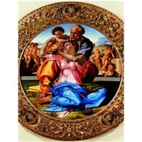 Sacra Famiglia, Michelangelo (1500 Parça Puzzle)