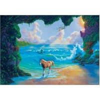 Seven Horses, Jim Warren (200 Parça Puzzle)