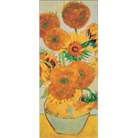 Sunflowers, Van Gogh (2000 Parça, Panorama Puzzle)