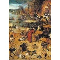 The Tempting Of St. Antonio, Bosch (2000 Parça Puzzle)