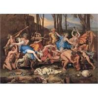 The Triumph Of Pan, 1636, Poussin (1500 Parça Puzzle)