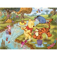 Winnie The Pooh: Let's Go Fishing (60 Parça)