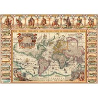 World Historical Map (2000 Parça Puzzle)
