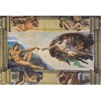 Clementoni Puzzle The Creation of Man, Michelangelo (6000 Parça)