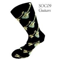 Elektro Gitarlı Çorap