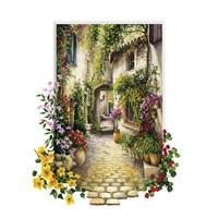 Educa Çiçekli Ara Sokak - 1000 Parça Puzzle