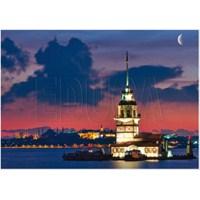 Educa 1000 Parça Puzzle Kız Kulesi - İstanbul, Neon