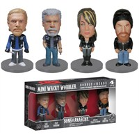 Funko Sons of Anarchy Mini 4 pack Wacky Wobbler