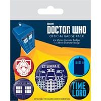 Rozet Seti - Doctor Who Exterminate BP80496