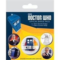 Rozet Seti - Doctor Who 12th Doctor BP80497