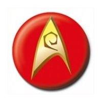 Rozet - Star Trek - Insignia -Red