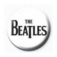 Rozet - The Beatles - Black Logo