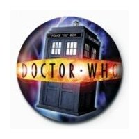 Rozet - Doctor Who - Tardis