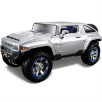 Maisto Hummer Hx Concept Model Araba 1:18 AllStars Gri