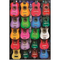 Anatolian Müziğin Renkleri - 500 Parça Puzzle