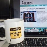 Zaytung Attention Working Mom Kupa
