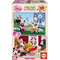 Educa Puzzle Çocuk 2X25 Parça Disney Minnie
