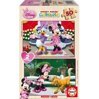 Educa Puzzle Çocuk 2X50 Parça Minnie