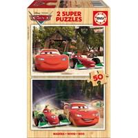 Educa Puzzle Çocuk 2X50 Parça Disney Cars