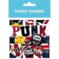 Rozet - Punk Union Jack