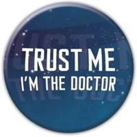 Rozet - Doctor Who Trust Me