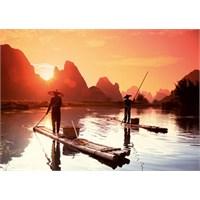 Ravensburger 1000 Parça Puzzle Günbatımında Balık Avı
