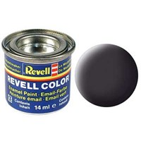Revell Tar Black Mat 14 Ml Maket Boyası
