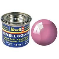 Revell Red Clear Silk 14 Ml Maket Boyası