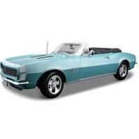 Maisto 1967 Chevrolet Camaro 396 Convertible Special Edition Model Araba 1:18 Mavi