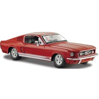 Maisto Ford Mustang Gt 1967 Diecast Model Araba 1:24 Special Edition Kırmızı