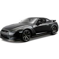Maisto Nissan GT-R 2009 Diecast Model Araba 1:24 AllStars Siyah