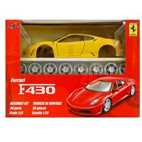 Maisto Ferrari F430 Model 1:24 Maket Kit Sarı