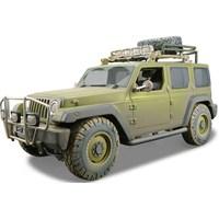 Maisto Jeep Rescue Concept Model Araba 1:18 Dirt Riders Yeşil