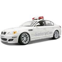 Maisto Bmw M5 Moto Gp Safety Car Model Araba 1:18 Premiere Edition Beyaz