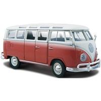 Maisto Volkwagen Van Samba 1:24 Model Araba Special Edition Kırmızı