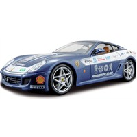 Maisto Ferrari 599 Gtb Blue Maket Kit Model Araba 1:24